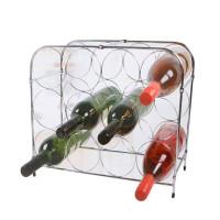 Botellero metalico para 12 botellas